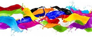 104714174 - colorful wild color splash isolated on white background © stockphoto-graf